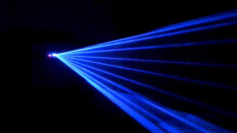 Single Blue Laser 100mw 470nm Z Lighting