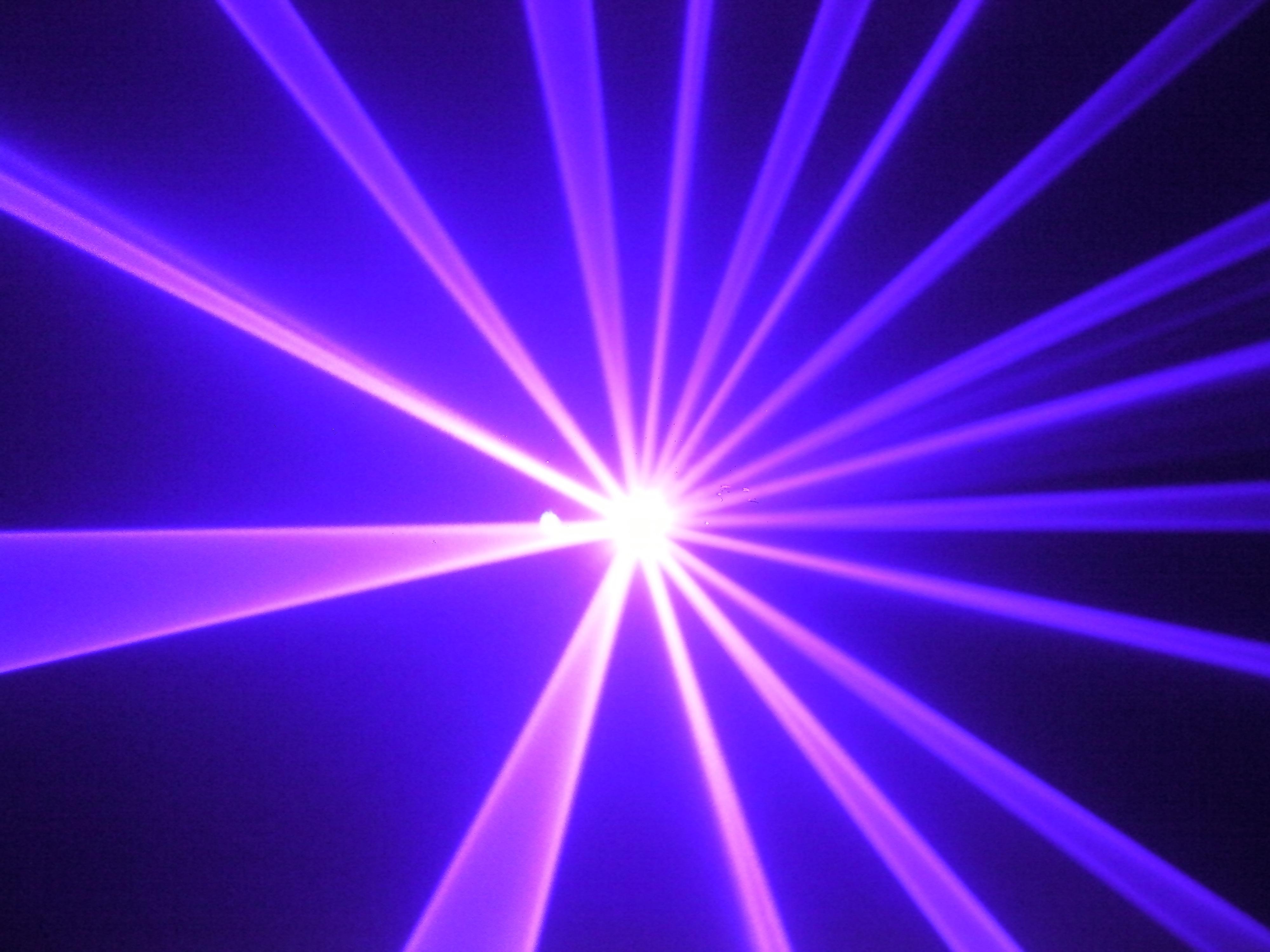 Single Purple Laser 100mw Z Lighting
